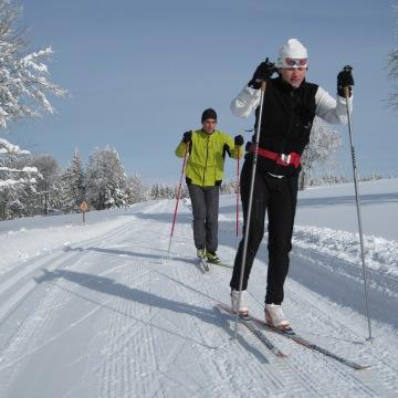 8 circuits de ski de fond