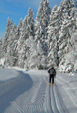 8 circuits of ski touring