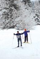3 circuits of ski touring