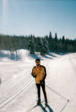 2 circuits of ski touring