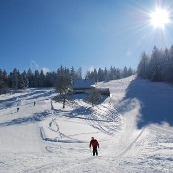 Plan of the Ventron ski slopes