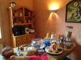 Buffet petit-déjeuner chambre d'hôtes La devinière Xonrupt Vosges