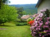 Chambres d'hôtes Simone et Claude VIANT Saulxures sur Moselotte Vosges jardin