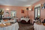 Buffet du petit déjeuner hôtel de La Grande Cascade Le Tholy Vosges