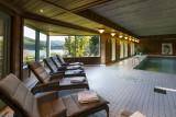 Piscine de l'hôtel Le Manoir au Lac hôtel 4****