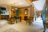 Réception de l'hôtel Le Manoir au Lac****