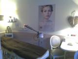 massage room in guest house La Devinière in Xonrupt Longemer