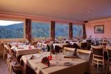 Salle de restaurant de L'Hôtel de La Grande Cascade Le Tholy Vosges
