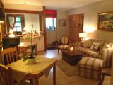 Living room in guest house Xonrupt-Longemer Vosges