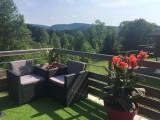 Terrasse Chambres d'hôtes Fleur de Lorraine à L'Eden de Floridylle Xonrupt-Longemer Vosges