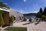 terrasse hotel le manoir au lac vacances gerardmer vosges
