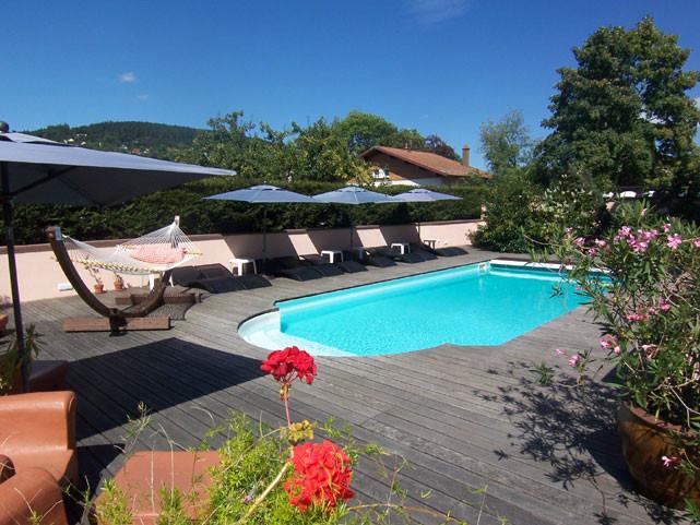 Hôtel Les Loges du parc piscine Gérardmer Vosges