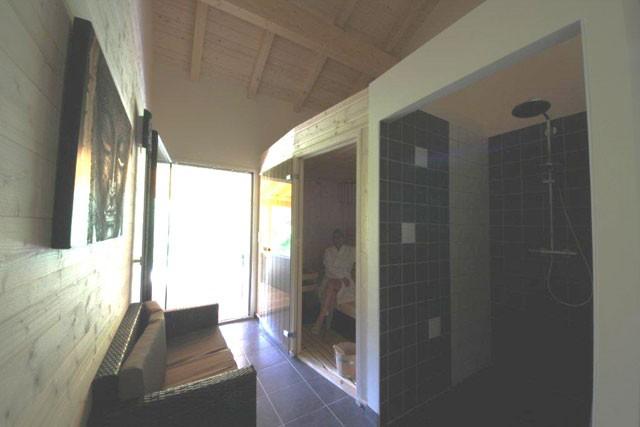 Sauna chambre d'hôtes Au Coeur des Lacs Gérardmer Vosges