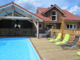 location vacances chalet gerardmer vosges piscine GE001 C816B