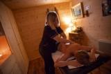 Massage dorsal à la maison d'hôtes Chalet des Roches Paîtres