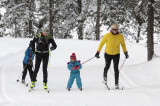 cross country skiing-family-gerardmer-Hautes Vosges