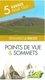 La Bresse Hautes-Vosges Topoguide 5 Randonnées Club Vosgien