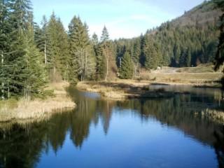 Lac de Lispach La Bresse Hautes-Vosges