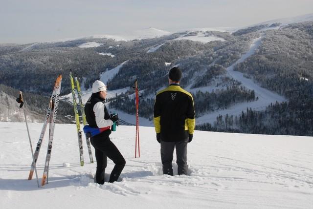 ski-de-fond à La Bresse